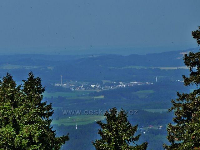 Suchý vrch - pohled z Bradla k Žamberku