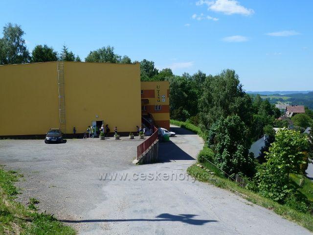 """Jamné nad Orlicí - restaurace """"U Tisu"""" / bývalý kulturní dům"""