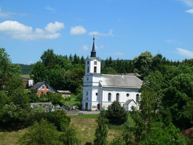 Jamné nad Orlicí - Kostel Nejsvětější trojice