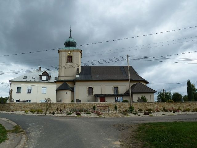 Sobkovice - kostel Svatého Prokopa