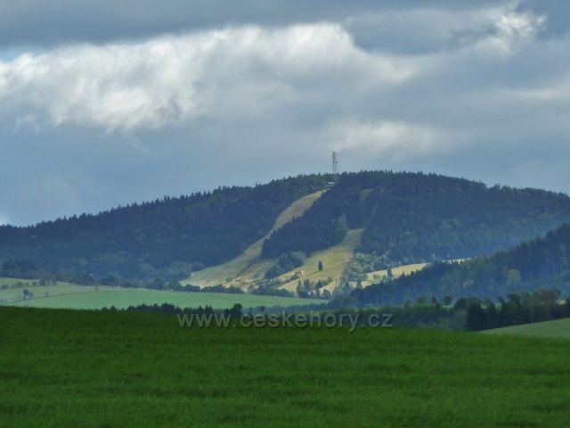 Sobkovice - pohled na Bukovou horu