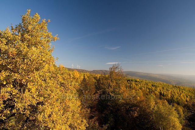 Podzim na Dušanově vyhlídce