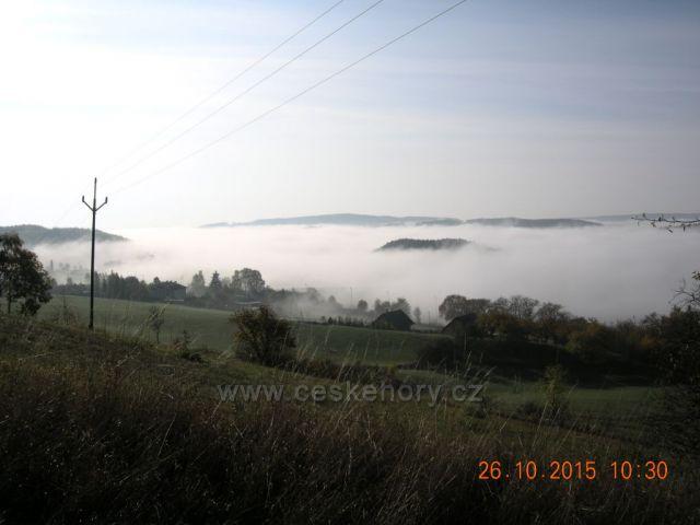 Podzimní mlhy v Jestřebích horách
