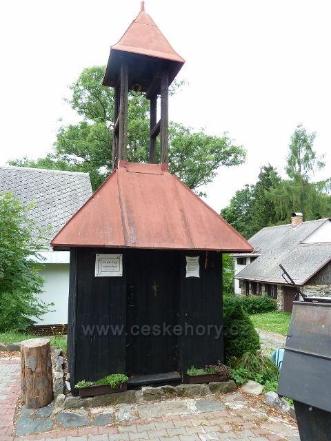 Kronfelzov - zvonička Svatého Jáchyma