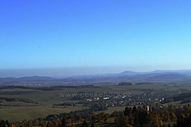 Výhled z Anaberku, Velký a Malý Roudný