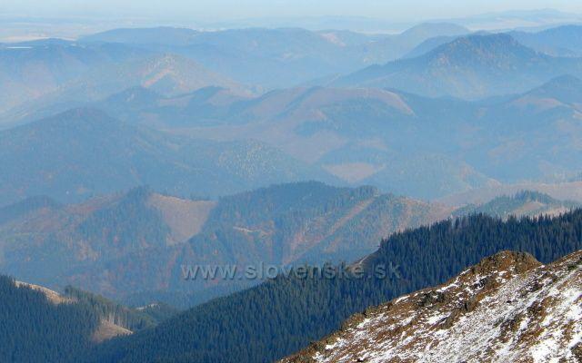 pohled do údolí NT