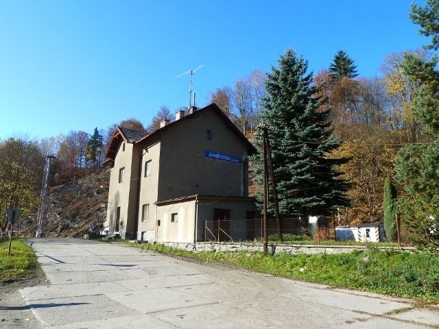 Jindřichov na Moravě - nádraží ČD