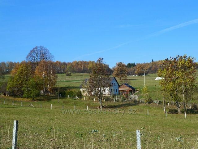 Habartice - horní část obce