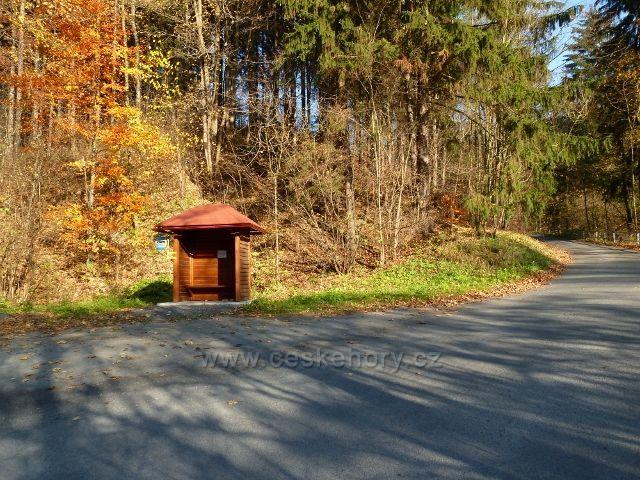 "Hanušovice - konečná autobusová zastávka ""Rozcestí Habartice"""