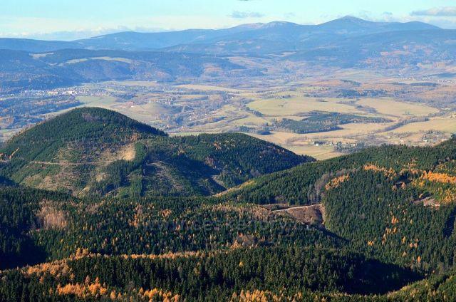 Vraní hory a Krkonoše