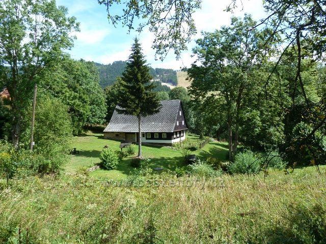 Dolní Morava - chalupa v osadě Horní Morava