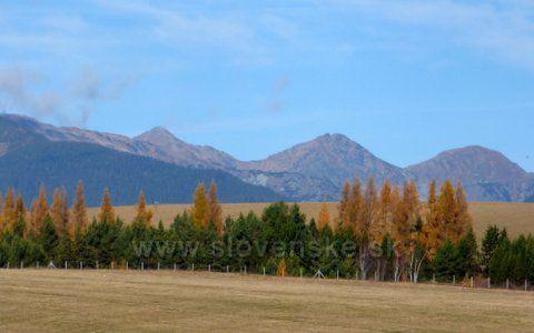 Jeseň pod Tatrami