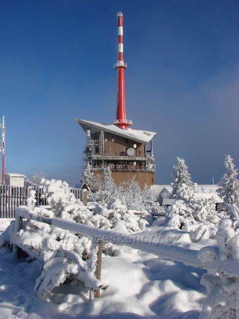 Lysá hora - zima 2009/2010