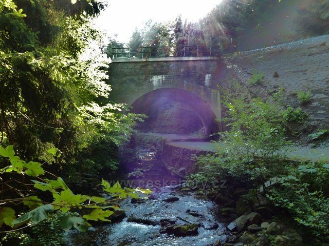 Branná - železniční mostek na trati Hanušovice-Jeseník