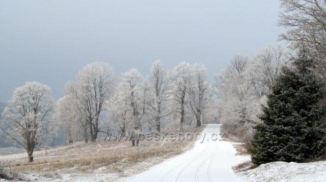 Blíží se sněhová vánice