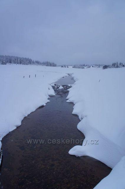 Jizera v udolí Jizerky