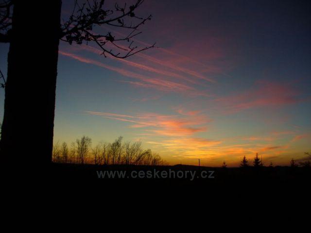 Západ slunce u Měšnice_2