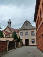 Město Albrechtice - domov řádových sester u náměstí ČSA