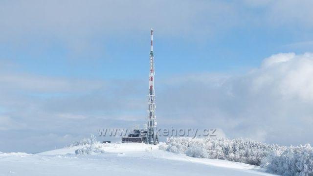 Velká Javořina - vysílač