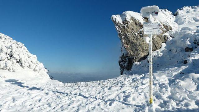 Velký Choč - vrchol