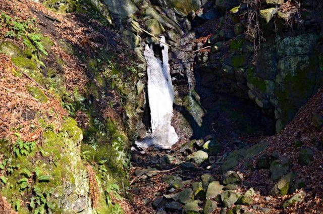 Terezínské údolí-vodopád