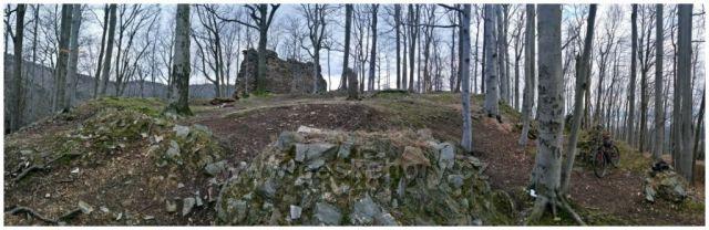 Zřícenina gotického hradu Roimund