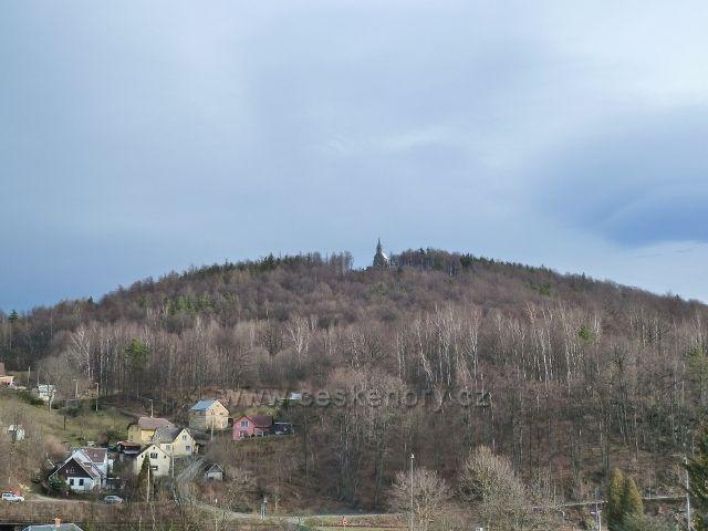 Žulová - Boží hora s kostelem Panny Marie Bolestné