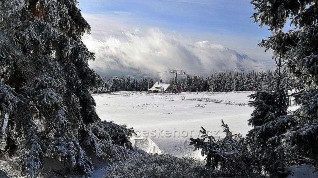 Zima na Černé hoře