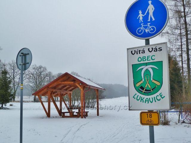 Žamberk - nové odpočívadlo u cyklostezky do Letohradu