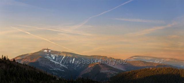 Lysá hora z Těšiňočky