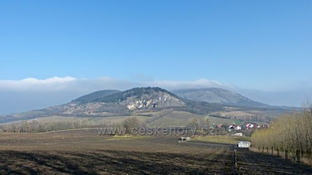 Pavlovské vrchy z Klentnice