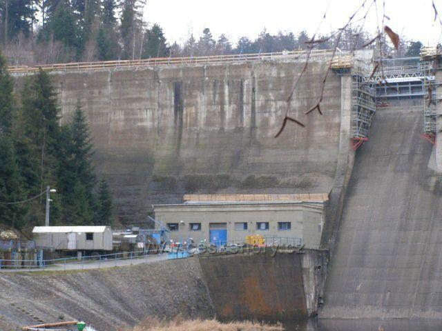 Oprava vodního díla Kružberk