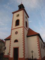 barokní kostel 14 pomocníků v Abertamech, Krušné hory
