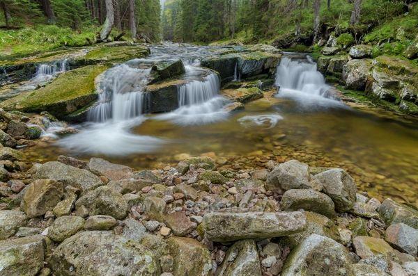 Vodopády na Mumlavě.
