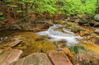 Krásy Mumlavy - jeden z nejfotografovanějších kamenů na Mumlavě.