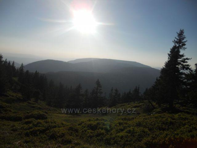 pohled z trasy Vernýřovice - Jelení studánka
