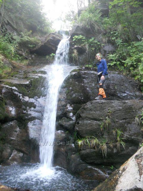 u Borového vodopádu