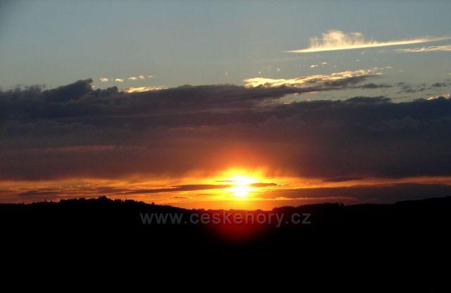 Východ slunce nad Beneckem
