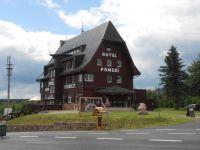 Cínovec - hotel Pomezí