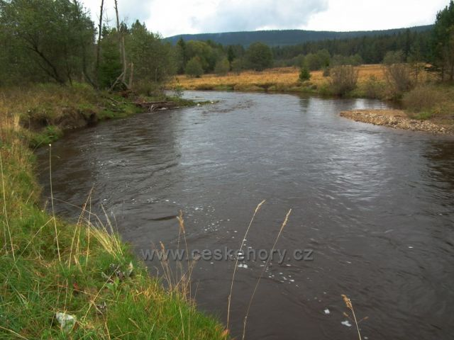 řeka Křemelná