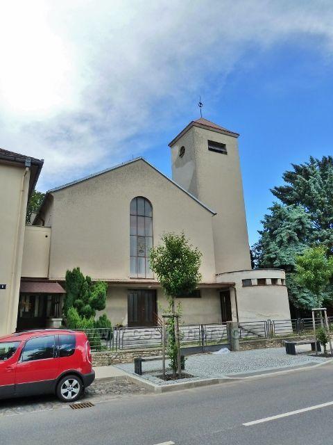 Mšeno - Evangelický kostel v Boleslavské ulici