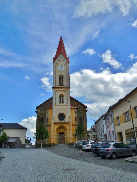 Mšeno - kostel svatého Martina
