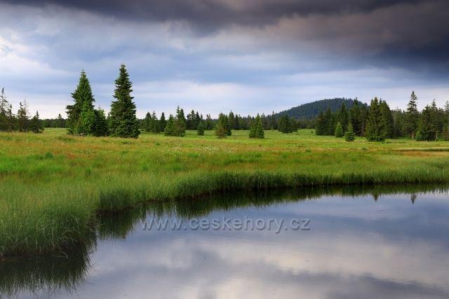 Mrtvý rybník se Špičákem