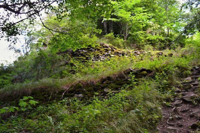 Zbytky hradeb hradu Furslenwalde z I. pol. 13 století. Posádku hradu tvořilo 8 bojovníků. Hrad byl malý.