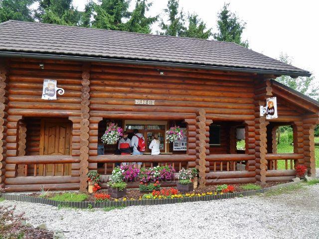 Velká Čantoryje - český bufet a prodejna suvenýrů pod rozhlednou