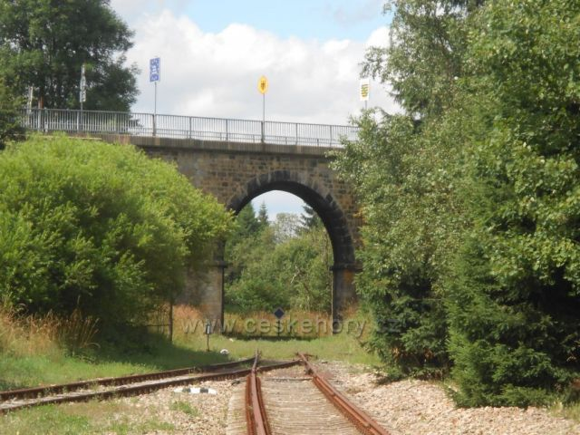 Viadukt na Moldavě
