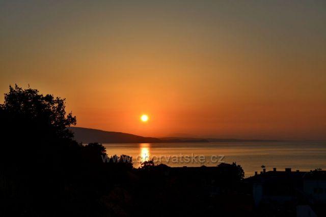 Západ Slunce ze Senje