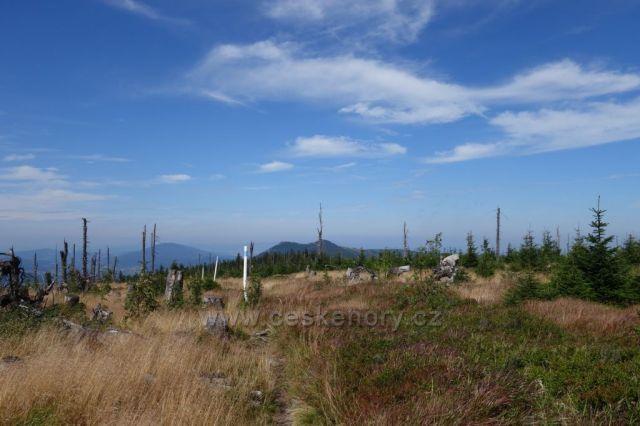 Šumava - přes Jezerní stěnu na Ostrý