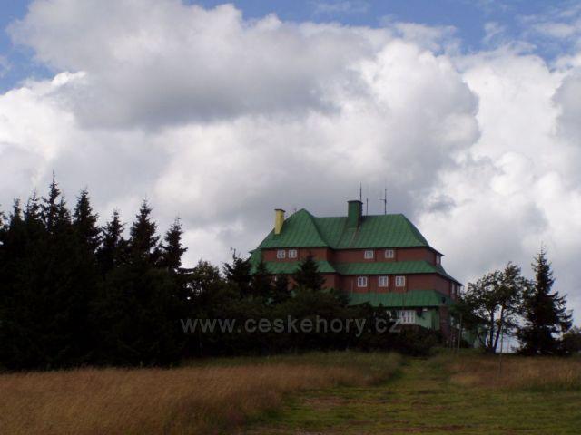 Šerlich - na vrcholu hory
