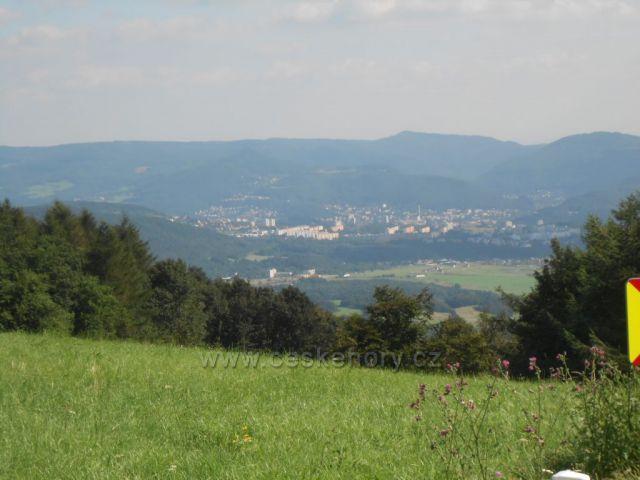 Pohled z Nakléřova na Ůstí nad Labem